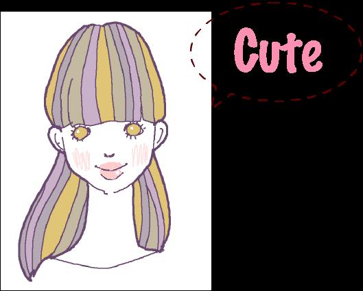 ヘアギャラリー-cute